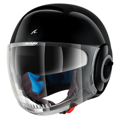 CASQUE SHARK NANO BLANK BLK